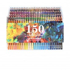 150 Watercolor Pencils For Art Drawing, Sketching, Adult Coloring Books