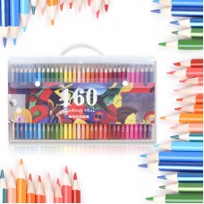 160 Colored Pencils Set Artist Drawing Oil Based Coloring Pencils