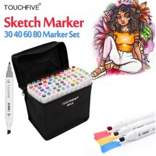 Touch Five Marker 60 Pen Student Colors Set