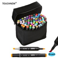 TOUCHNEW 30/40/60/80 Soft Brush Alcohol Based Art Marker Pens For Manga Drawing Animation Design