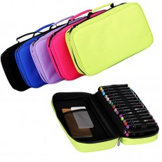 Marker Pen Case 40/60 Slots Holder with Carrying Handle for Primascolor Copic TouchFive